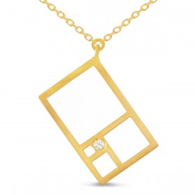 Natalie Aurea - Pendant Rectangle