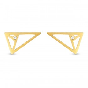 Natalie Aurea - Earrings Triangle