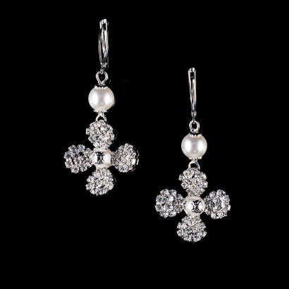 Glamour Hunter - Pendientes Snow Flower